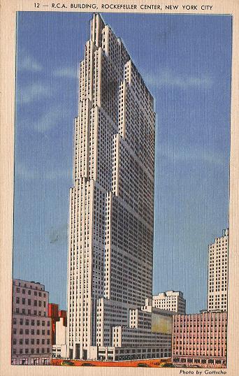 El edificio de la  RCA