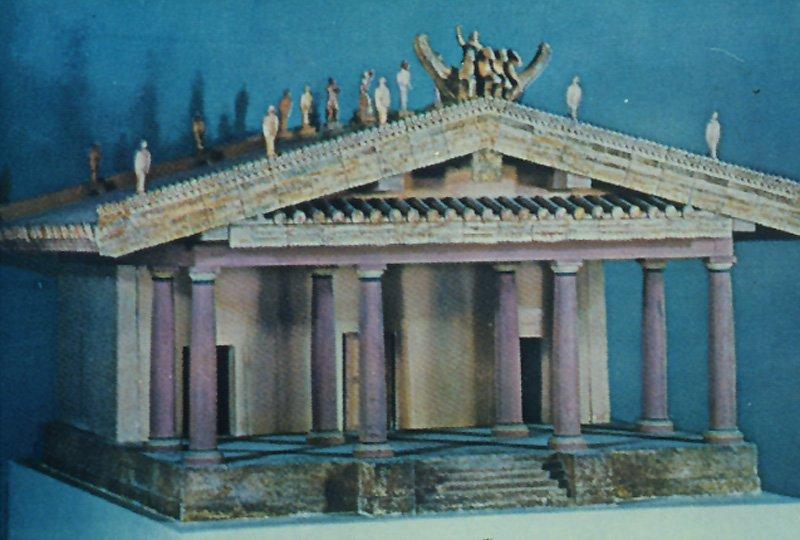 Arquitectura etrusca arkiplus for Arquitectura griega templos