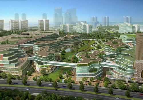 eco ciudad-tianjin