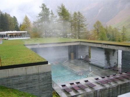 Termas de Vals, en Vals Suiza.