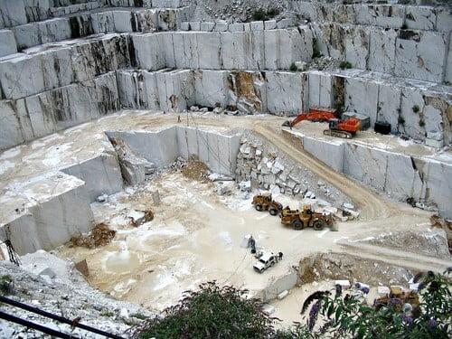 Carrara, la ciudad del mármol