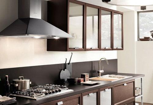 Extractores de humo o campanas - Campanas para cocinas ...