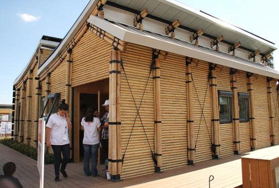 El bamb para la construcci n de viviendas for Construccion de casas bioclimaticas