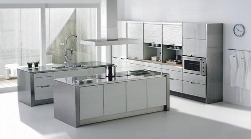 Cocinas minimalistas arkiplus for Muebles de cocina basicos