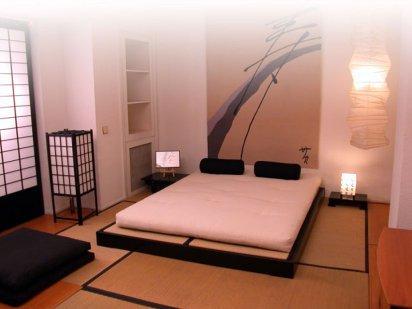 Diferencias entre el estilo zen y feng shui - Habitacion estilo zen ...