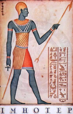 Imhotep el primer arquitecto de la historia arkiplus for Imhotep architecte