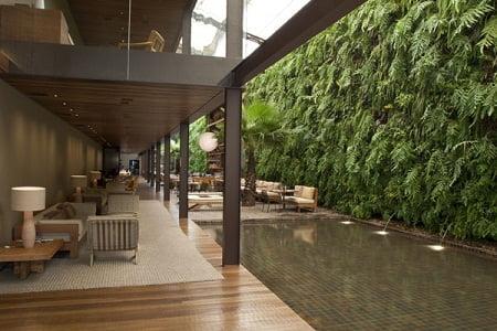 Jardines verticales arkiplus for Plantas para muros verdes verticales