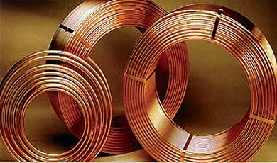 rollos de cobre