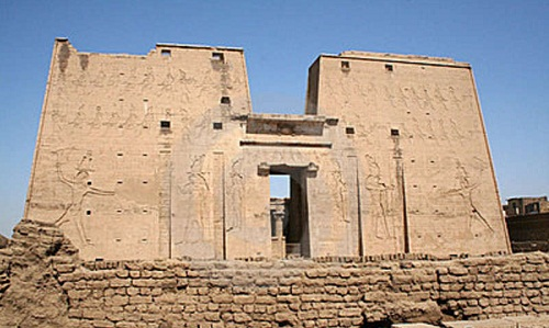 templo de edfu-antiguo egipto