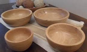 vasijas en madera de algarrobo