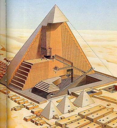 gran piramide de khufu