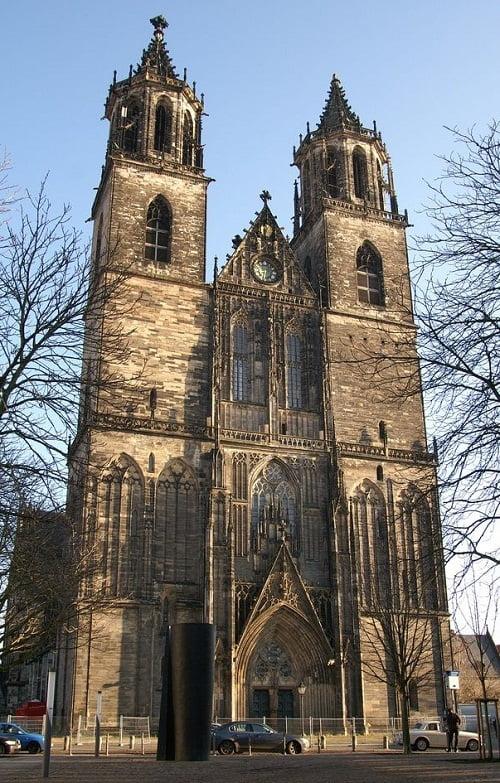 Catedral de Magdeburgo de la arquitectura gótica