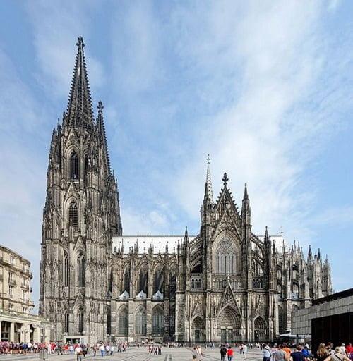 Arquitectura gótica. Catedral de Colonia