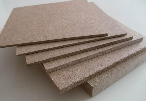 paneles de fibra de madera de densidad media