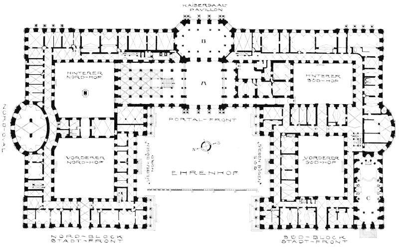 Residencia-de-Würzburg-planos2