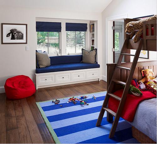 Dormitorio para ni os en azul arkiplus Dormitorio para ninos