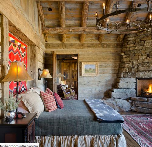 Dormitorios estilo r stico fotos arkiplus - Decoracion dormitorio rustico ...