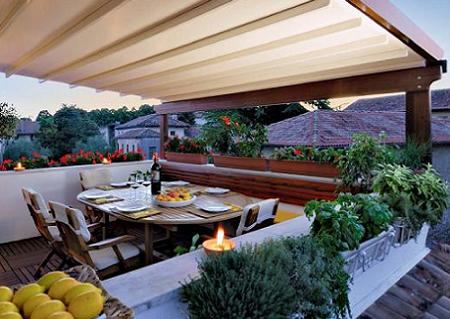 Dise os de terrazas y porches arkiplus for Ideas para decorar una terraza exterior