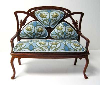 Caracter sticas del mobiliario art nouveau arkiplus - Art deco muebles ...