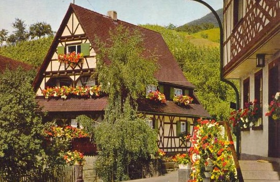 casa tipica alemana en la selva negra