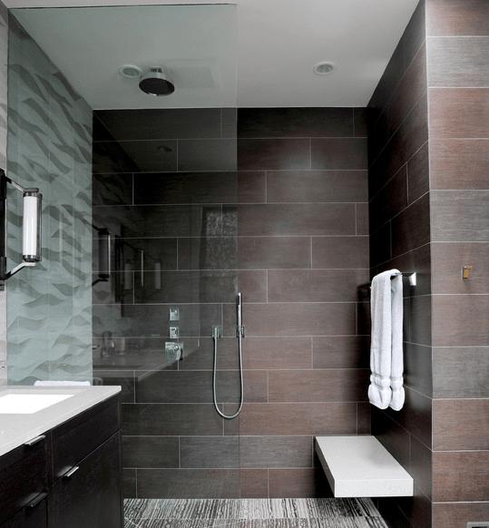 Dise os de duchas modernas arkiplus for Diseno de banos con ducha