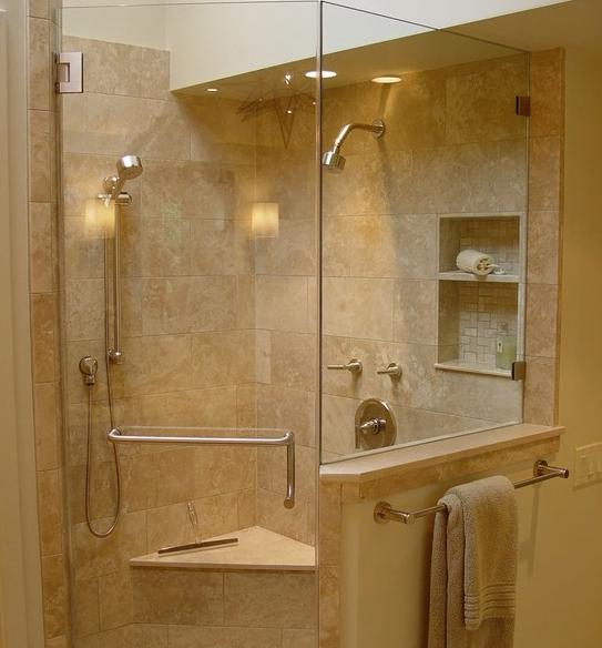 ba os duchas modernas