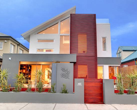Fachadas de casas modernas arkiplus for Fachadas pisos modernas