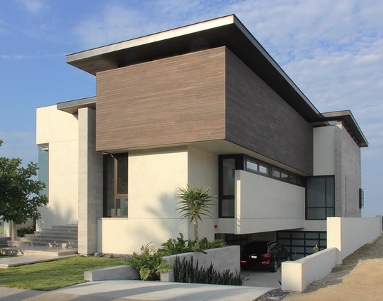 Fachadas de casas modernas arkiplus for Casa moderna fachada