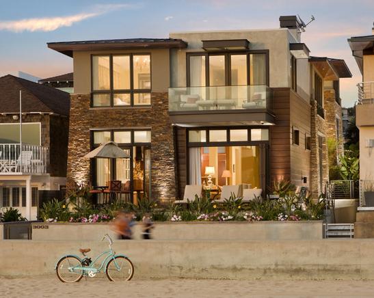 Fachadas de casas modernas arkiplus for Fachadas de casas elegantes modernas