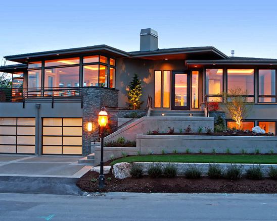 Fachadas de casas modernas arkiplus for Casa moderna 8