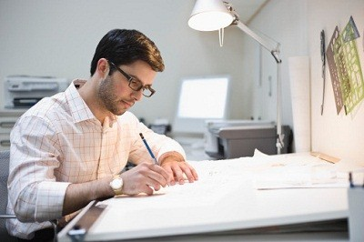 draftsman vs architect We offer an in house draftsman for your convenience bring your ideas and we will put them into floor plans and elevations that are ready for approval.
