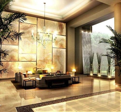 Recibidor o lobby innovarq dise o render remodelacion for Diseno de interiores hoteles