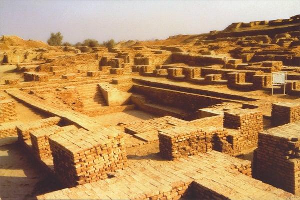 Ruinas de Mohejo Daro.