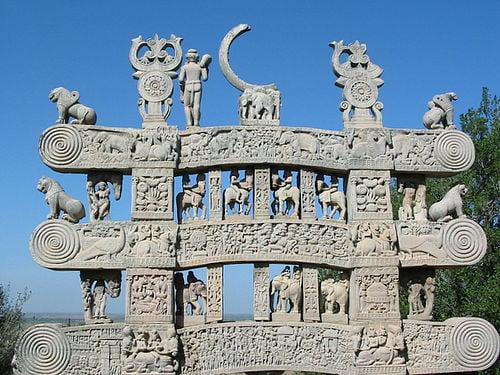 Estilo Gandhara de arquitectura.