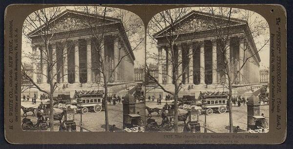 Fotografía estereoscópica de Paris.