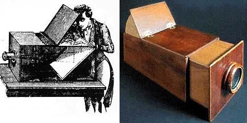 """Nicéphore Niépce logró las primeras fotografías, conocidas como heliografías o """"dibujos del sol"""", en 1827."""