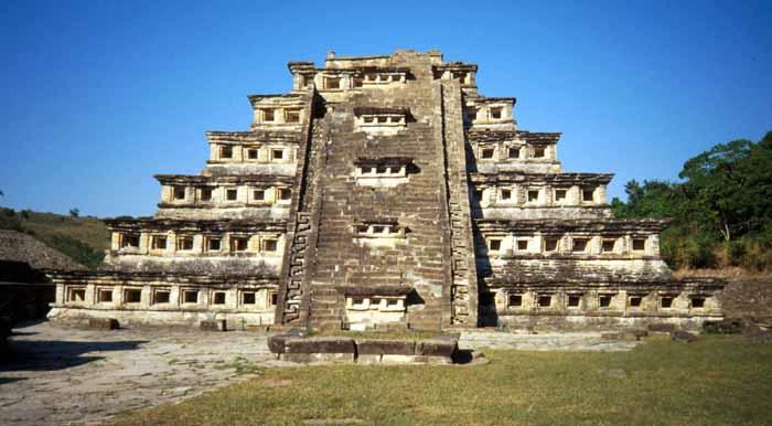Pirámide de Tajín en México
