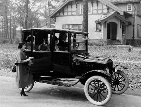 Modelo F-T de Ford.