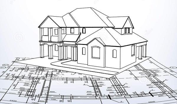 Dibujo de fachadas imagui for Fachadas de casas modernas para colorear