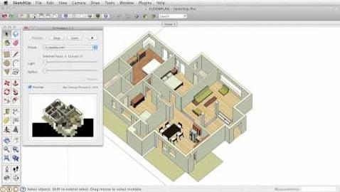 Software para arquitectos. Flyrender