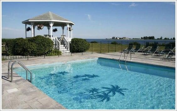 Decoraci n de piscinas con papel vinilo arkiplus for Decoracion para albercas