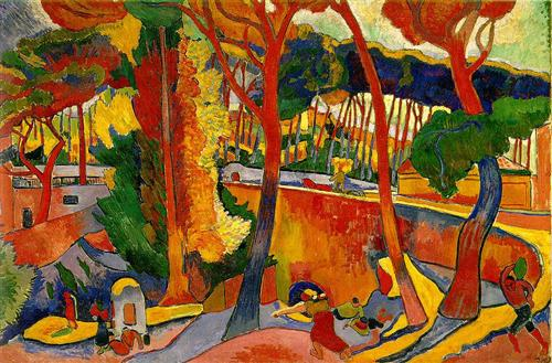 Estaque - de André Derain (1905)