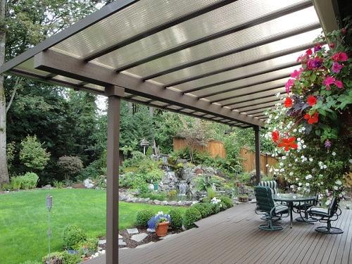 P rgolas gazebos y galer as arkiplus - Cubiertas para patios interiores ...