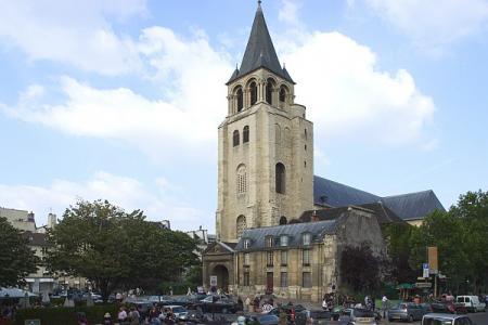 iglesia de St-Germain-des-Prés