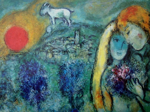 Pintores destacados del expresionismo for Chagall tableau