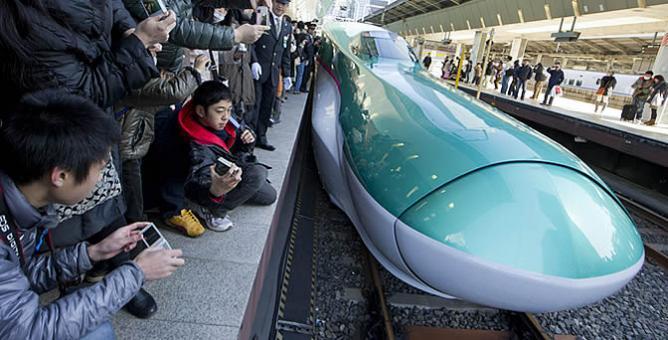 Tren bala japonés