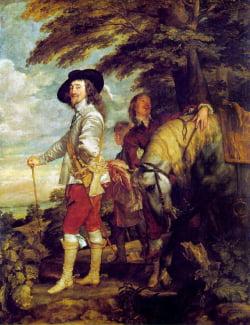 1635. Anthony van Dyck. Carlos I de caza