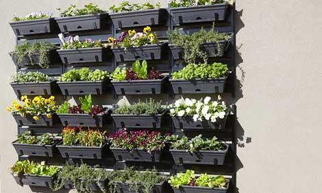 C mo construir un jard n vertical paso a paso arkiplus - Construir jardin vertical ...