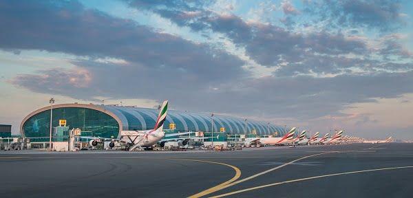 El aeropuerto de Dubai.