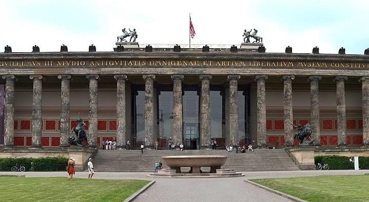 Museo Antiguo de Berlín. Arquitectura neoclásica
